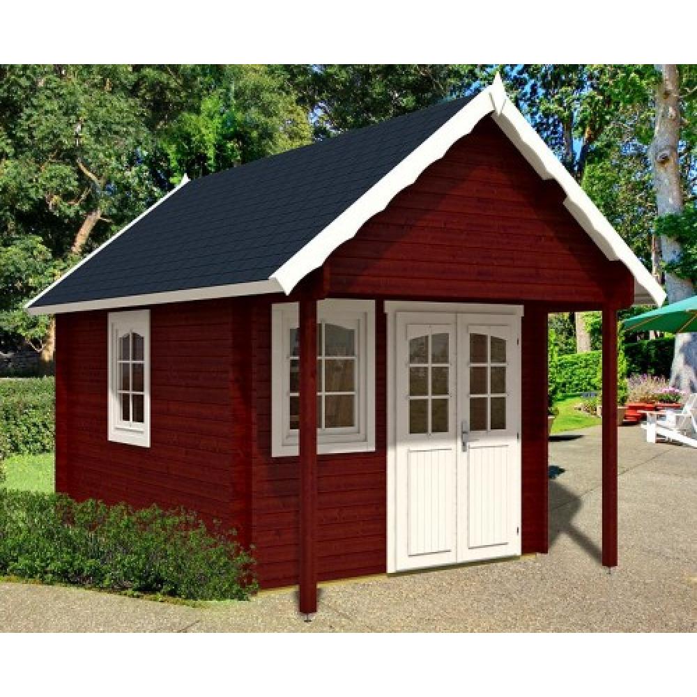 gartenhaus mit schlafboden awesome blockhaus with gartenhaus mit schlafboden latest gartenhaus. Black Bedroom Furniture Sets. Home Design Ideas