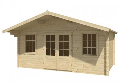 Holzspezi prikker blockhaus stockholm 500 x 320cm gartenhaus 28mm holzhaus li26243064 - Gartenhaus stockholm ...