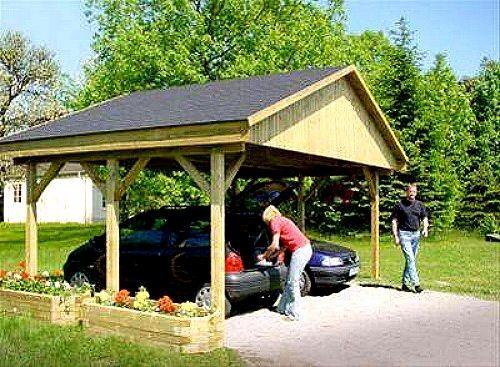 holzspezi prikker carport satteldach monza i 600cm x 500cm bausatz 380084038633. Black Bedroom Furniture Sets. Home Design Ideas