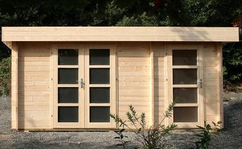 holzspezi prikker gartenhaus oriental 4 40mm blockhaus. Black Bedroom Furniture Sets. Home Design Ideas