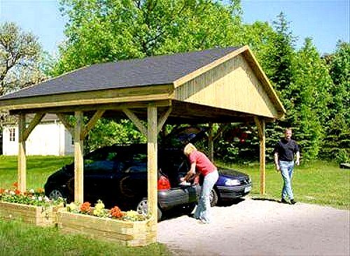 holzspezi prikker carport satteldach monza i 600cm x 500cm bausatz 380084038633. Black Bedroom Furniture Sets. Home Design Ideas